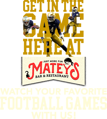 Matey's, sports event, football game